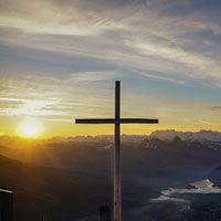 photo of calvary cross